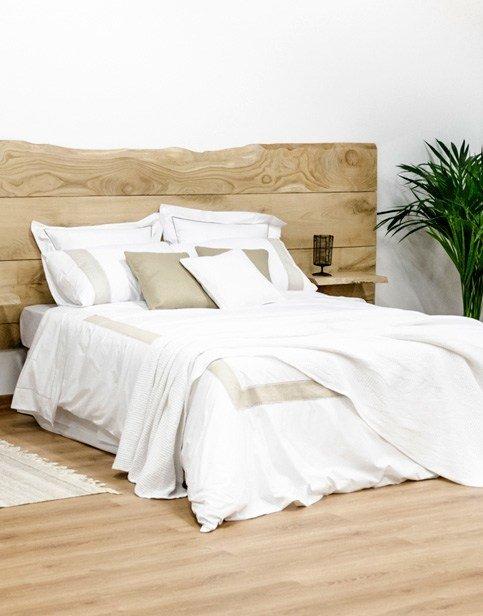 Cabecero de casta o cube deco tienda de muebles de for Cabecero madera
