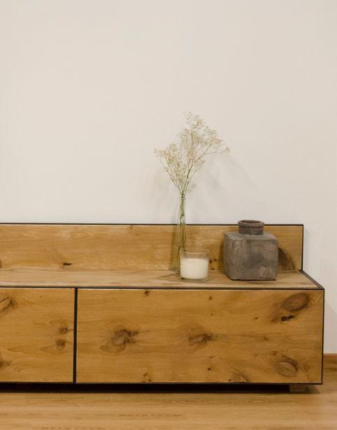 Conjunto para sal n cube deco tienda de muebles de - Muebles de madera maciza para salon ...