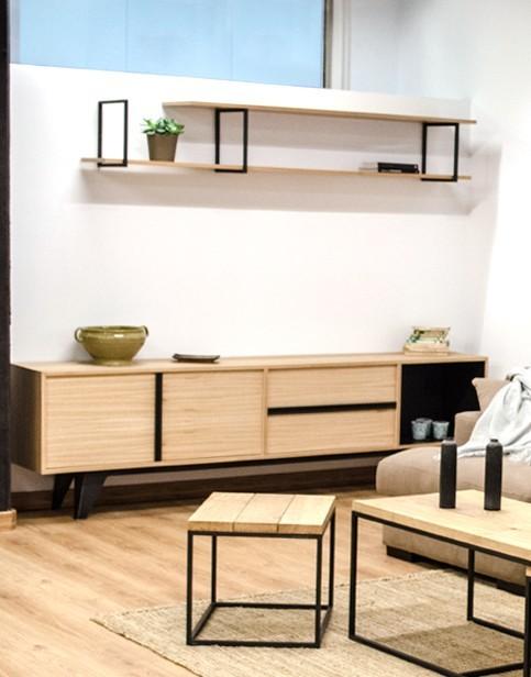 Mueble TV - Cube Deco: Tienda de muebles de madera maciza, mármol y ...