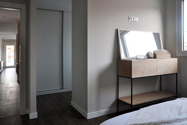 Casa piloto Cube - Dormitorio